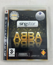 SingStar ABBA Ps3 (Sony PlayStation 3, 2009) Complete & FREE SHIPPING!!!!