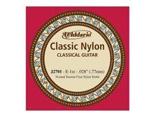 Corda singola per chitarra classica (MI - E) D'Addario 028 - Normal Tension
