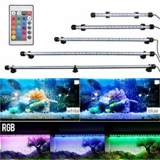 Us Aquarium Fish Tank Underwater Submersible Color Changing Led Air Bubble Light