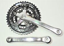 CYCLONE CPI BICYCLE 175 MM 42/34/24 TOOTH JIS SQUARE TAPER LOW PROFILE CRANKSET