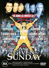 Any Given Sunday - Al Pacino - 2 Disc Set - New & Sealed Region 4 DVD FREE POST