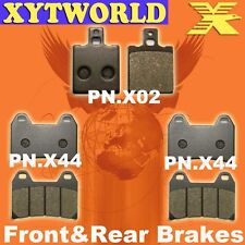 Front Rear Brake Pads for DUCATI 750 Monster IE 2000-02