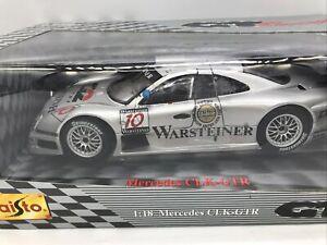 1/18 Maisto 1998 Mercedes CLK-GTR  LeMans Warsteiner #10 Nannini  Part # 38848
