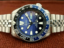 LOVELY SAVE THE OCEAN MOD SEIKO 7S26-0020 SKX007 AUTOMATIC MENS WATCH 700891