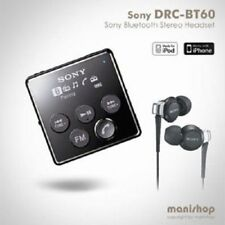 Sony DRC-BT60 / Bluetooth Stereo Hands Free Mobile Phone Reciever FM / Black_iU