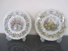 royal doulton brambly hedge four seasons 6inch plates