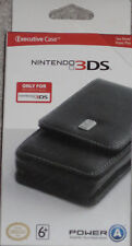 NEW Nintendo 3DS Executive Case Black Factory Sealed Free Shipping !