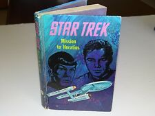 STAR TREK : MISSION TO HORATIUS * ORIGINAL WHITMAN PUBLISHING HARDBACK 1968
