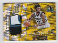 Andrew Wiggins   2015-16 Panini Spectra Franchise Fabric Gold #25 SP 4/10