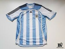 VINTAGE ADIDAS ARGENTINA NATIONAL FOOTBALL JERSEY 2006-2007 HOME SIZE XL