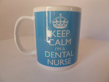 Keep Calm I'm a Dental Nurse Gift Present Mug Cup Carry On Cool Britannia Retro