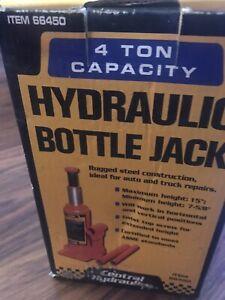 Central Hydraulics 4 Ton Ton Bottle Jack