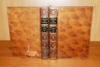 1838 Necker de Saussure L'EDUCATION PROGRESSIVE Etude du Cours de la Vie 2 Vols