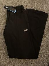 Speedo Performance Women's Black Elastic Waist Team Swim Apparel Pants Size XS