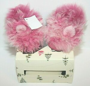 UGG Pinkipuff Solvi Infant Slippers - Pink Azalea Size 2/3 (6-12 months) NIB