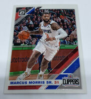 MARCUS MORRIS 2019-20 CHRONICLES OPTIC DONRUSS UPDATE TRADED SP CLIPPERS #515