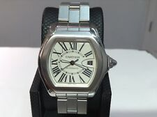 CARTIER Ref. 3312 W6206017 ROADSTER LARGE 40mm S/S Automatic w/ Silver Dial! A++