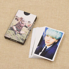 BTS Kpop Star SUGA Personal Paper Card Mini Picture Phone Mini Cards Gift 30pcs