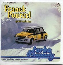 CD Franck POURCEL	Turbo Rhapsody (1981) - Mini LP REPLICA - 11-track CARD SLEEVE