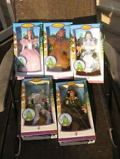 THE WIZARD OF OZ .BARBIE COLLECTION 2006 SET OF 5 .PINK LABEL