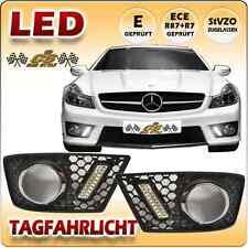 Mercedes Benz SL R230 AMG 63 & 65 LED Tagfahrlicht Set im Gitter Bj.04/2008-2012
