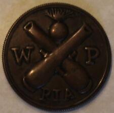 Rock Island Arsenal 1882  Work Pass No 3916 Medal