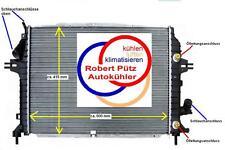 KÜHLER Wasserkühler OPEL Zafira B, A05, 1,7 CDTi ab 01.2008, Schalter & ATM