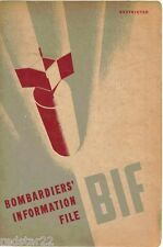WWII BOMBARDIERS' INFORMATION FILE 1944 252p  On CD