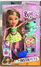 Bratz Instapets Yasmin and pet Bobble Head Frog Grenouille And Many Accessories!
