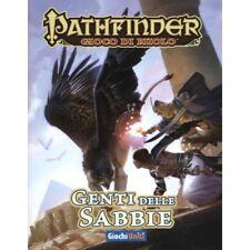 Pathfinder Genti delle Sabbie supplemento manuale GDR gioco di ruolo italiano