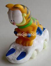 LOOSE Carl's Jr. 1997 Garfield DOWNHILL RACER Skier Skiing Snow Ski CAKE TOPPER