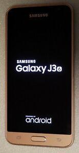 Samsung Galaxy J3 (2016) SM-J320FN 8GB Gold (Unlocked) Mobile Smart Phone