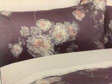 LAURA ASHLEY Natalie SINGLE Quilt / Doona Cover Set - Purple Floral