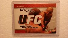 2009 Topps UFC Round 2 BJ Penn Authentic Fight Mat Relic Card