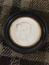 Stunning Serves Bisque Plaque By J. Peter Showing Eugenie, Wife Of Napoleon III