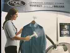 Home Touch Commercial Garment Steamer Perfect Steam Deluxe! PS-250B (New)