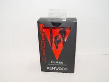 Kenwood KH-SR800B Black In Ear Sport Headphones KHSR800B Apple Android Highend