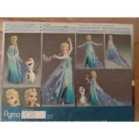 figma Anna and the Snow Queen Elsa Non-scale ABS & PVC Painted Movable Disney