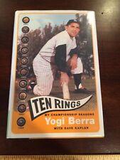 Ten Rings My Championship Seasons Vintage Hard Cover Book By Yogi Berra