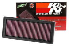 33-2945 K&N Replacement Air Filter AUDI A4, 1.8L TFSI (KN Panel Replacement Filt