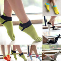 Women High Quality Sport Ankle Protect Foot Comfortable Five Fingers Toe Socks'