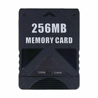 256MB Megabyte Memory Card For Sony PS2 PlayStation 2 Slim Game Data Console
