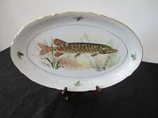 Schumann Arzberg Servierplatte  Dresden Fischplatte - Goldrand