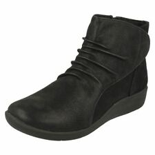 Clarks Textile Boots for Women