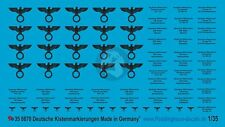 Peddinghaus 1/35 German Supply / Ration / Rifle Ammo Crate Markings WWII 870
