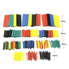 400Pc Car Electrical Cable Heat Shrink Tube Assorted Tubing Wire Wrap Kit D5C