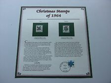 5 Cent Holly and Mistletoe 1964 Christmas Stamps