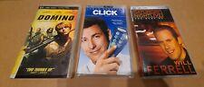 Lot of 3 PSP UMD Movies - Keira Knightley Domino SNL Best of Will Ferrell, Click