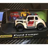 Pioneer P081 Legends Racer 34 Coupe Pearl White #30 Slot Car 1/32 Scalextric DPR