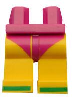 Lego Beine gelb Aufdruck Sandalen in grün Hüfte purpur Hosen 970c03pb36 Neu